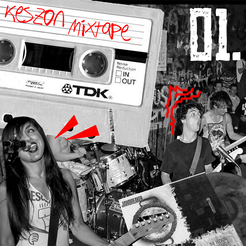 Keszon Mixtape 01. – A tökéletes pop punk mix, amit akkor sem fogsz megunni, ha a nyári szünetben éjjel-nappal vereted